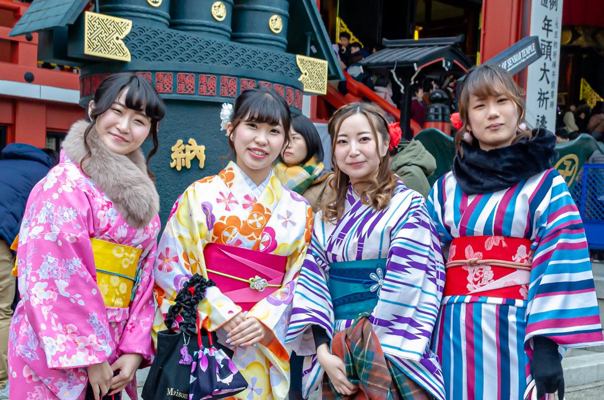 Vestiti tradizionali giapponesi